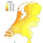 gemiddeld-aantal-zonuren-in-Nederland